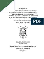 Implementasi Peraturan Daerah Kabupaten Siak Nomor 11 Tahun 2006 Tentang Pembentukan Badan Usaha Milik Daerah (Bumd) Pt. Permodalan Siak Dalam Pemberdayaan Ekonomi Masyarakat Di Kabupaten Siak Tahun 2007-2012