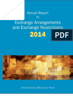Exchange Arrangement & Restriction 2014 IMF