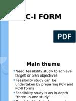 PC-I form