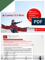 Info Precontractual y Bases Cuenta 123 + extra 18.03