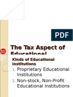 Tax Aspect for Educational Institutions.ppt