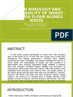 ANDRES Dough Rheology and Bread Quality of Wheat–Chickpea Flour