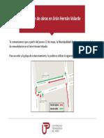Comunicado 03_obras en Pje Velarde