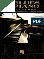 Blues Piano Legends - Hal Leonard Corp