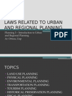 Planning Laws