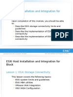 R MOD 08-ESXi Host Installation and Integration for Block
