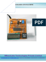 ATM Machine Using RFID