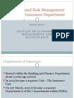 Insurance Department Degree.pptx