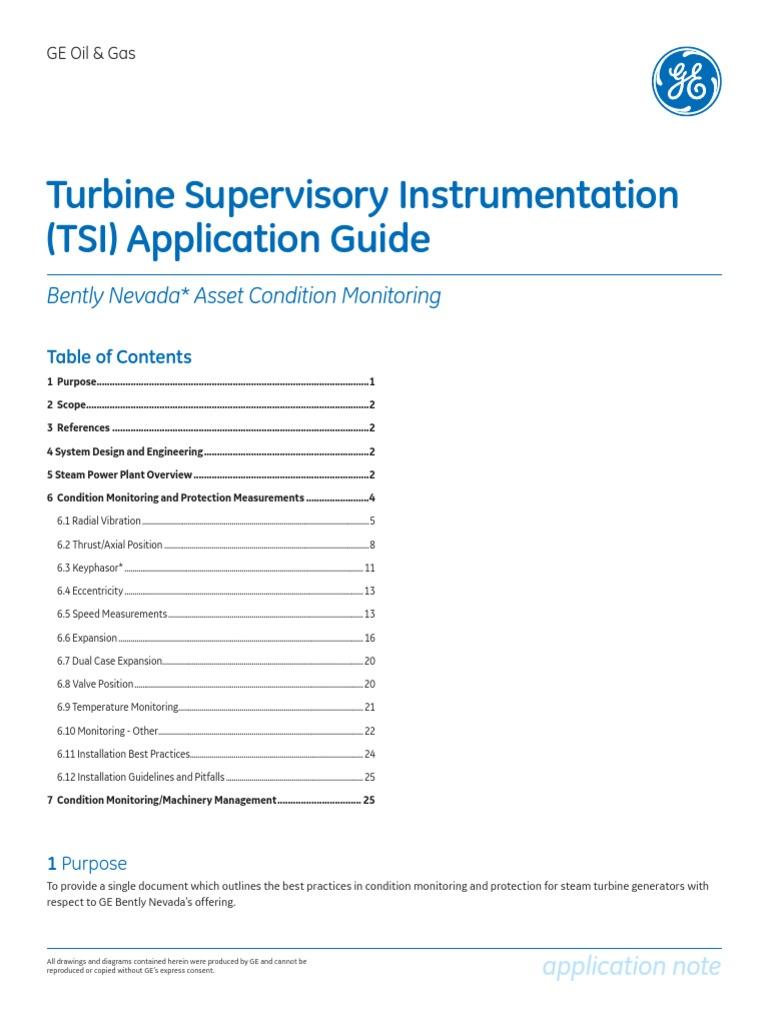 Steam turbine installation guide