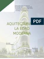 Arquitectura en La Edad Moderna