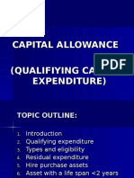 Topic 6 Capital Allowance