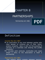 Topic 8 Partnership Part 1