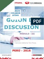 Modulo III - Guion de Discusión