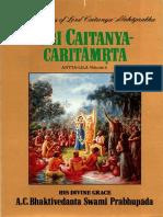 Sri Caitanya Caritamrita Antya lili vol.2