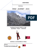 Carstensz Journey 2015 Proposal Tanpa Rincian Biaya