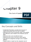Chap8 Cost of Capital