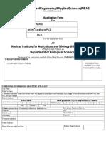 Application Form 2016