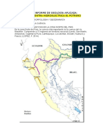 Primer Informe de Geología Aplicada