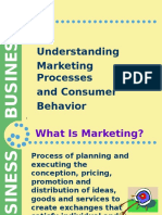 Understand Process of Marketing