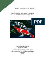 Karakteristik Stres Pada Ikan