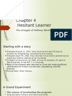 chapter 4 hesitant  learners
