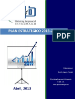 Estructura Plan Estratégico