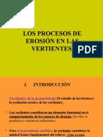 Los Procesos de Erosión en Las Vertientes.ii