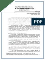 Ensayo de La Cultura Organizacional Aplicada a Los Procesos Investigativos (2)