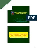 Manejo Integrado de Plagas en Costa, Centro y Sur