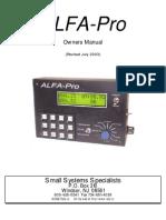 Odometer Alpha Pro
