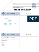 3ro Sec. Exam. Diario - Estadistica - Trento