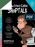 Shoptalk 2016 Brochure