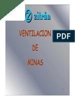 Ventilación Minería Subterranea