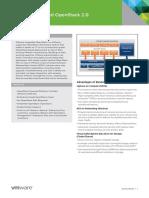 VMware Integrated OpenStack Datasheet