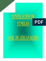Ventilacion Secundaria y de Excavacion de Túneles