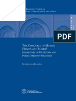 13589086 the Conquest of Muslim Hearts and Minds Perspectives on US Reform and Public Diplomacy Strategies