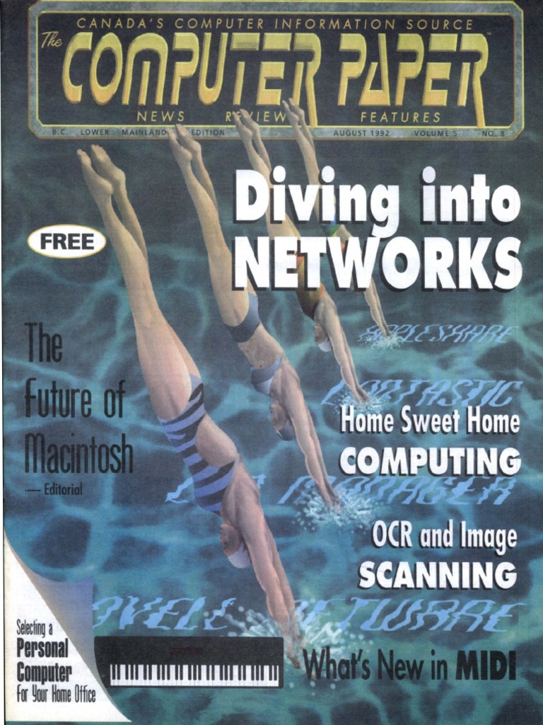 1992-08 The Computer Paper - BC Edition pdf   Macintosh