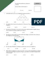 Examen de Matematicas NUPLES