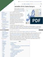Es Wikipedia Org Wiki Estado Miembro de La Uni C3 B3n Europe