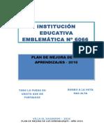 PLAN DE MEJORA DE LOS APRENDIZAJES 2016-primaria.docx