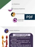 Human Relations (1)