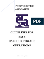 ETA - Guideline for Safe Harbour Towage Operatios