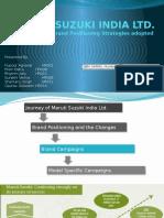 Final PPT Maruti