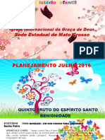 Planejamento de Julho 2016-2