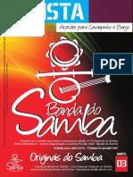 Revista Banda Do Samba Edição 03 - Originais Do Samba