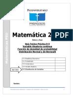 D-5 Datos y Azar -Variable Aleatoria Continua