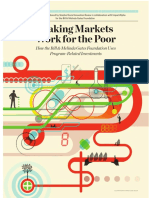Making Markets Work for the Poor - Bill & Melinda Gates Foundation PRIs