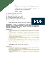 Preguntas RSE - Dimension Social (Inversión Social)