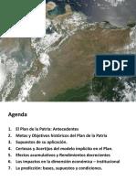Entorno Venezuela y Plan de La Patria 2014