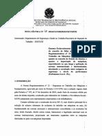 Nota Técnica Nº 48_2016 - NR12 Estado Da Técnica